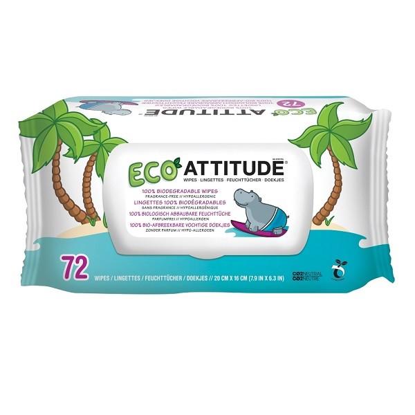 Attitude Ecologische Babydoekjes 72st