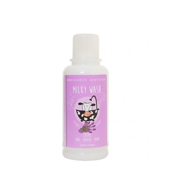 Evi-line Bad- & Douchecrème Milky Wash 1l Lavendel
